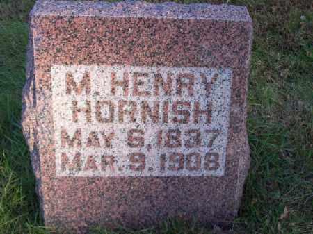 HORNISH, M. HENRY - Tazewell County, Illinois | M. HENRY HORNISH - Illinois Gravestone Photos