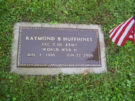 HUFFHINES, RAYMOND BENTON - Tazewell County, Illinois   RAYMOND BENTON HUFFHINES - Illinois Gravestone Photos