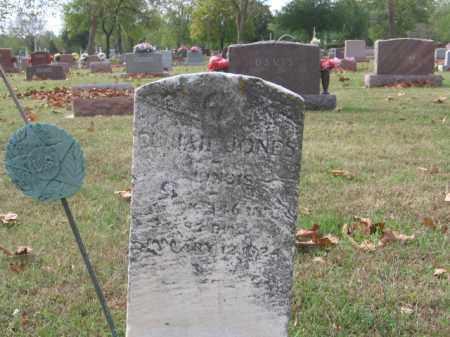 JONES, ELIJAH - Tazewell County, Illinois   ELIJAH JONES - Illinois Gravestone Photos