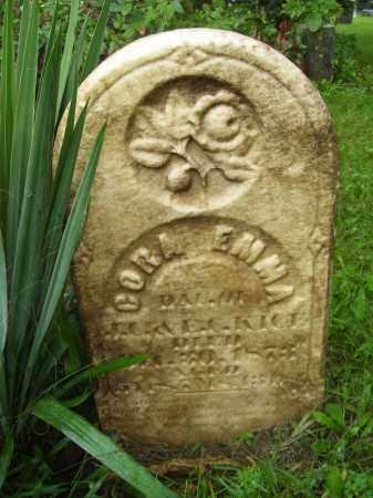 KICE, CORA EMMA - Tazewell County, Illinois   CORA EMMA KICE - Illinois Gravestone Photos