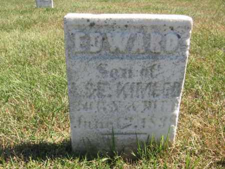 KIMLER, EDWARD - Tazewell County, Illinois | EDWARD KIMLER - Illinois Gravestone Photos