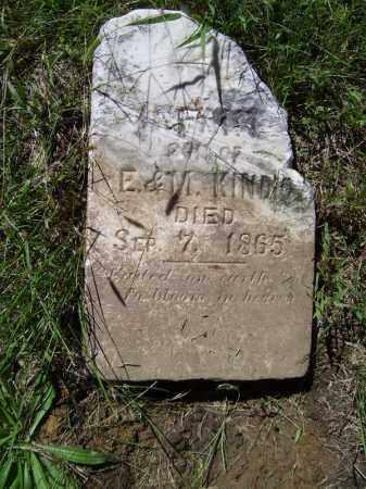 KINDIG, INFANT - Tazewell County, Illinois | INFANT KINDIG - Illinois Gravestone Photos
