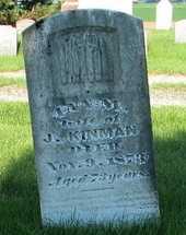 MOORE KINMAN, ANN I. - Tazewell County, Illinois | ANN I. MOORE KINMAN - Illinois Gravestone Photos