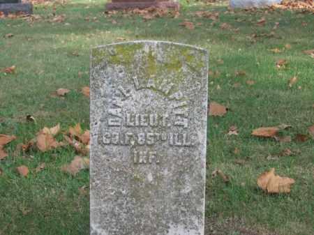 LAMPITT, EDWIN D. - Tazewell County, Illinois   EDWIN D. LAMPITT - Illinois Gravestone Photos