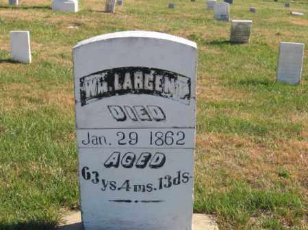 LARGENT, WM - Tazewell County, Illinois | WM LARGENT - Illinois Gravestone Photos