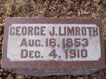 LIMROTH, GEORGE J - Tazewell County, Illinois | GEORGE J LIMROTH - Illinois Gravestone Photos