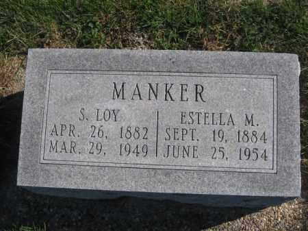MANKER, ESTELLA M - Tazewell County, Illinois   ESTELLA M MANKER - Illinois Gravestone Photos
