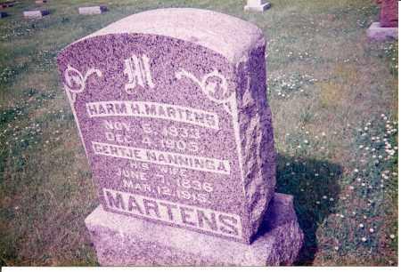 NANNINGA MARTENS, GERTJE - Tazewell County, Illinois | GERTJE NANNINGA MARTENS - Illinois Gravestone Photos