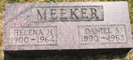 MEEKER, HELENA H. - Tazewell County, Illinois | HELENA H. MEEKER - Illinois Gravestone Photos