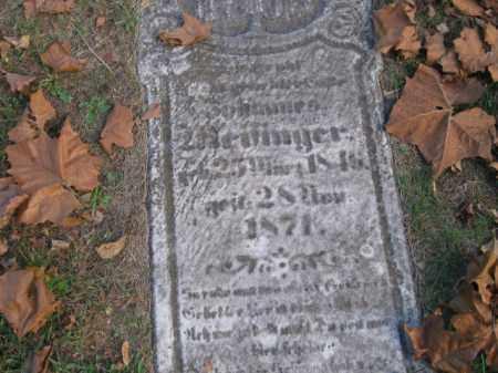 MEISINGER, JOHANNES - Tazewell County, Illinois | JOHANNES MEISINGER - Illinois Gravestone Photos