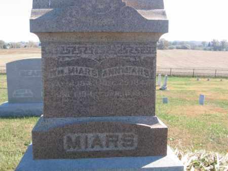 MIARS, ANN - Tazewell County, Illinois | ANN MIARS - Illinois Gravestone Photos