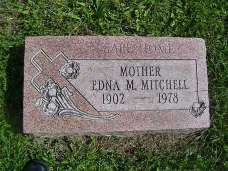 MITCHELL, EDNA M - Tazewell County, Illinois | EDNA M MITCHELL - Illinois Gravestone Photos