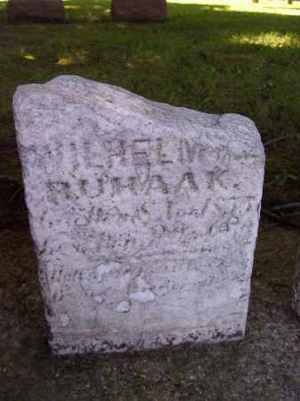 MUHAAK, WILHELM - Tazewell County, Illinois | WILHELM MUHAAK - Illinois Gravestone Photos