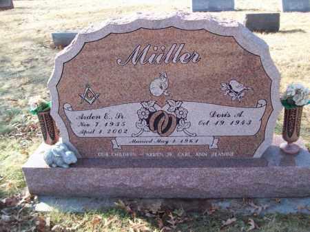 MULLER, ARDEN E SR. - Tazewell County, Illinois   ARDEN E SR. MULLER - Illinois Gravestone Photos
