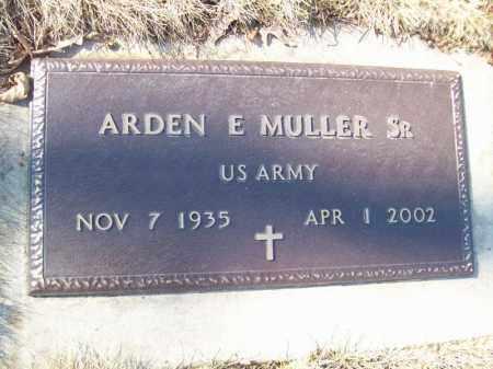 MULLER, ARDEN E SR. - Tazewell County, Illinois | ARDEN E SR. MULLER - Illinois Gravestone Photos