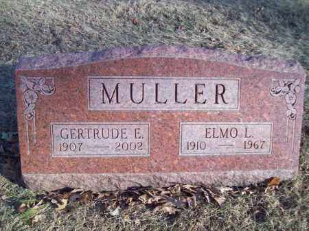 MULLER, GERTRUDE E - Tazewell County, Illinois | GERTRUDE E MULLER - Illinois Gravestone Photos
