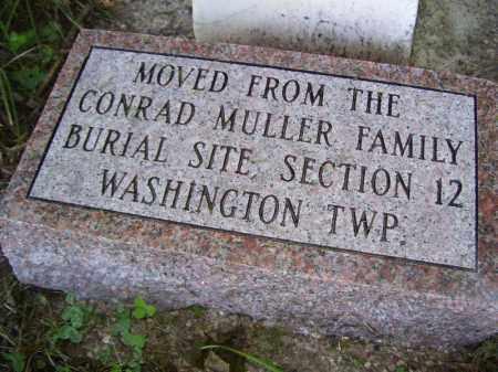 MULLER, GROUP - Tazewell County, Illinois | GROUP MULLER - Illinois Gravestone Photos