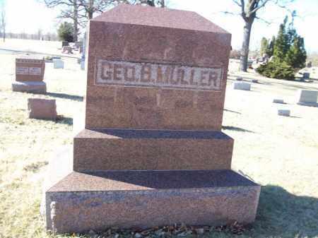 MULLER, GEORGE B FAMILY MONUMENT - Tazewell County, Illinois | GEORGE B FAMILY MONUMENT MULLER - Illinois Gravestone Photos