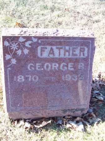 MULLER, GEORGE B - Tazewell County, Illinois | GEORGE B MULLER - Illinois Gravestone Photos