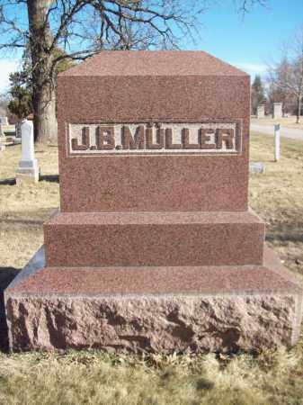 MULLER, JOHN B FAMILY MONUMENT - Tazewell County, Illinois | JOHN B FAMILY MONUMENT MULLER - Illinois Gravestone Photos