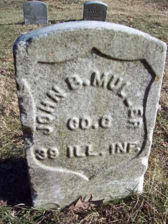MULLER, JOHN B - Tazewell County, Illinois   JOHN B MULLER - Illinois Gravestone Photos