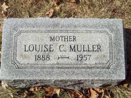 MULLER, LOUISE C - Tazewell County, Illinois | LOUISE C MULLER - Illinois Gravestone Photos