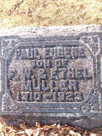 MULLER, PAUL EUGENE - Tazewell County, Illinois   PAUL EUGENE MULLER - Illinois Gravestone Photos