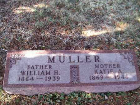 MULLER, WILLIAM H - Tazewell County, Illinois | WILLIAM H MULLER - Illinois Gravestone Photos