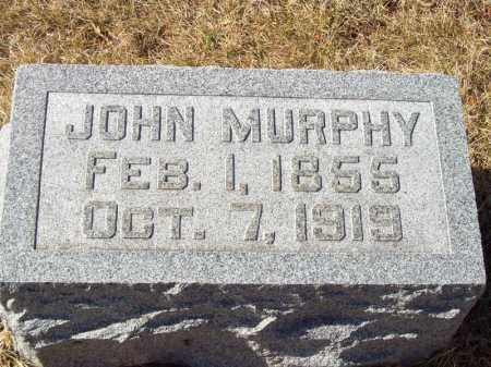 MURPHY, JOHN - Tazewell County, Illinois | JOHN MURPHY - Illinois Gravestone Photos