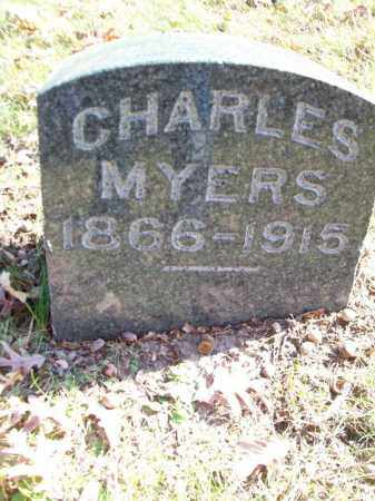 MYERS, CHARLES - Tazewell County, Illinois | CHARLES MYERS - Illinois Gravestone Photos