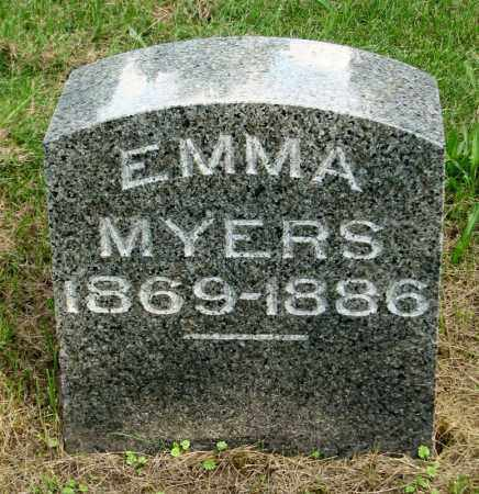 MYERS, EMMA - Tazewell County, Illinois | EMMA MYERS - Illinois Gravestone Photos