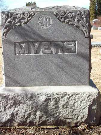 MYERS, FAMILY MONUMENT - Tazewell County, Illinois | FAMILY MONUMENT MYERS - Illinois Gravestone Photos