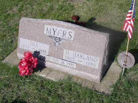 MYERS, ORA - Tazewell County, Illinois | ORA MYERS - Illinois Gravestone Photos