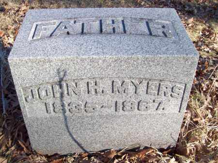 MYERS, JOHN  H - Tazewell County, Illinois | JOHN  H MYERS - Illinois Gravestone Photos