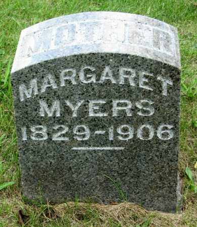 MYERS, MARGARET - Tazewell County, Illinois | MARGARET MYERS - Illinois Gravestone Photos