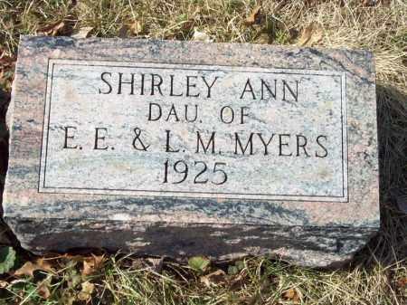 MYERS, SHIRLEY ANN - Tazewell County, Illinois | SHIRLEY ANN MYERS - Illinois Gravestone Photos