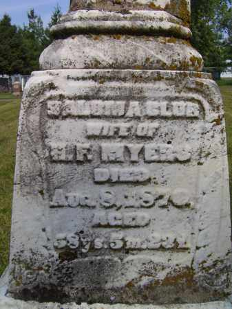 MYERS, SALOM A - Tazewell County, Illinois | SALOM A MYERS - Illinois Gravestone Photos