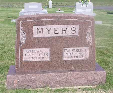 MYERS, EVALINE - Tazewell County, Illinois | EVALINE MYERS - Illinois Gravestone Photos