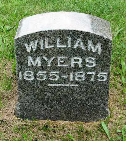 MYERS, WILLIAM - Tazewell County, Illinois | WILLIAM MYERS - Illinois Gravestone Photos