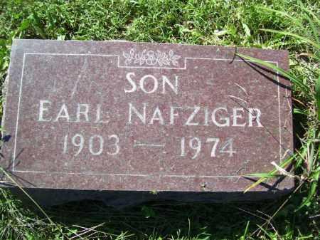 NAFZIGER, EARL - Tazewell County, Illinois | EARL NAFZIGER - Illinois Gravestone Photos