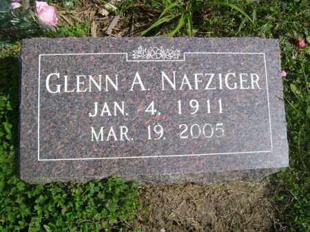 NAFZIGER, GLENN A - Tazewell County, Illinois | GLENN A NAFZIGER - Illinois Gravestone Photos
