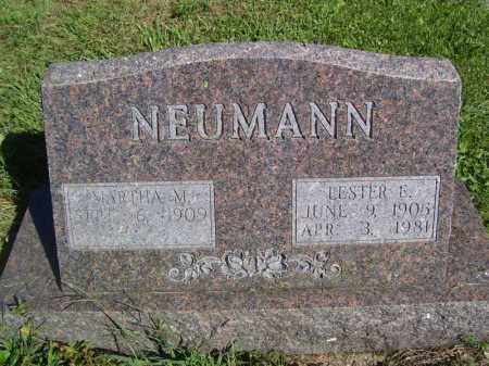 NEUMANN, MARTHA M - Tazewell County, Illinois   MARTHA M NEUMANN - Illinois Gravestone Photos