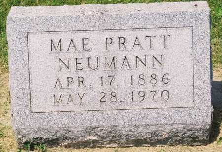NEUMANN, MAE - Tazewell County, Illinois | MAE NEUMANN - Illinois Gravestone Photos