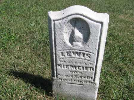 NIEMEIER, LEWIS - Tazewell County, Illinois | LEWIS NIEMEIER - Illinois Gravestone Photos