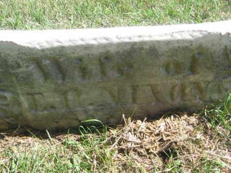 NIXON, ? - Tazewell County, Illinois | ? NIXON - Illinois Gravestone Photos