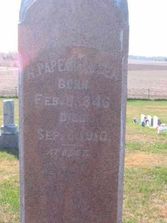PAPENHAUSEN, HERMAN H - Tazewell County, Illinois | HERMAN H PAPENHAUSEN - Illinois Gravestone Photos