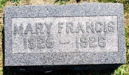 PAWSON, MARY FRANCIS - Tazewell County, Illinois | MARY FRANCIS PAWSON - Illinois Gravestone Photos