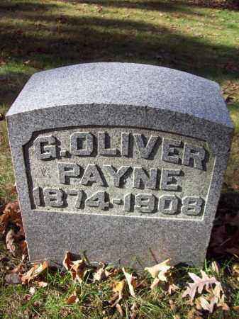 PAYNE, G. OLIVER - Tazewell County, Illinois | G. OLIVER PAYNE - Illinois Gravestone Photos