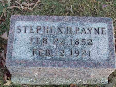 PAYNE, STEPHEN H - Tazewell County, Illinois | STEPHEN H PAYNE - Illinois Gravestone Photos