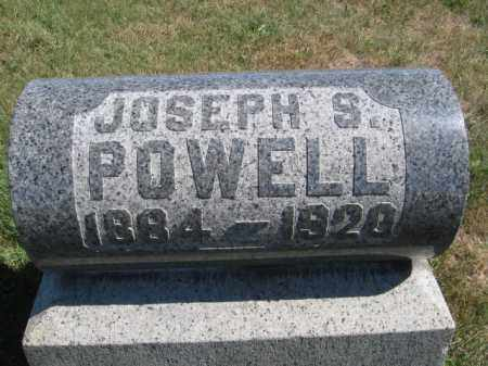POWELL, JOSEPH S - Tazewell County, Illinois   JOSEPH S POWELL - Illinois Gravestone Photos